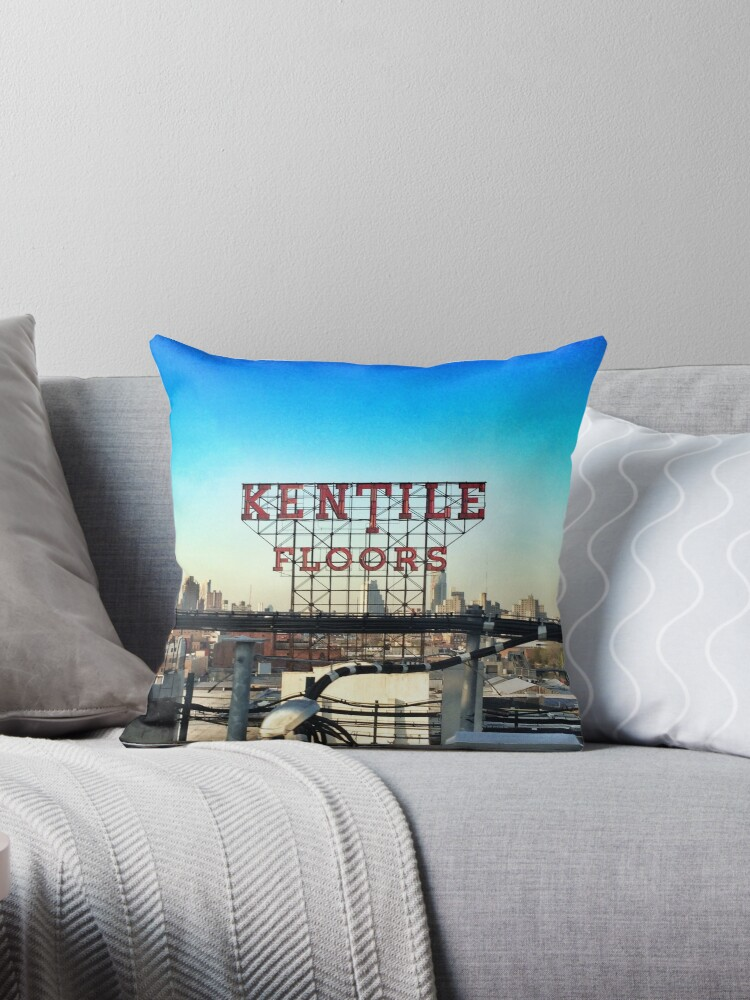Kentile Floors - Downtown Brooklyn Skyline Photography by OneDayOneImage - Brooklyn Lovers  by OneDayArt