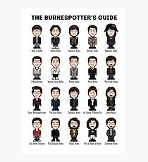 The Burkespotter's Guide (poster/card/notebook) Photographic Print