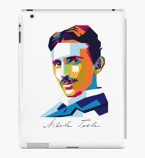Nikola Tesla Inventor Genius iPad Case/Skin
