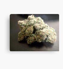 Lienzo metálico Dank Cookies Buds 420 Cannabis Ganja