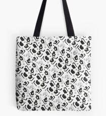 penguin print Tote Bag