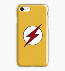 Kid Flash Symbol iPhone Case/Skin