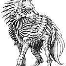 «Hiena de pelo largo» de BioWorkZ