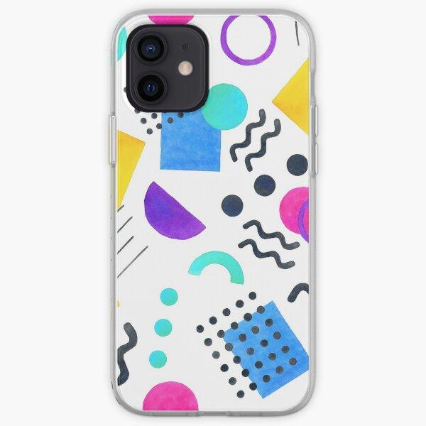 Memphis style iPhone Soft Case