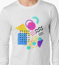 Memphis style Long Sleeve T-Shirt