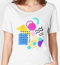Memphis style Women's Relaxed Fit T-Shirt