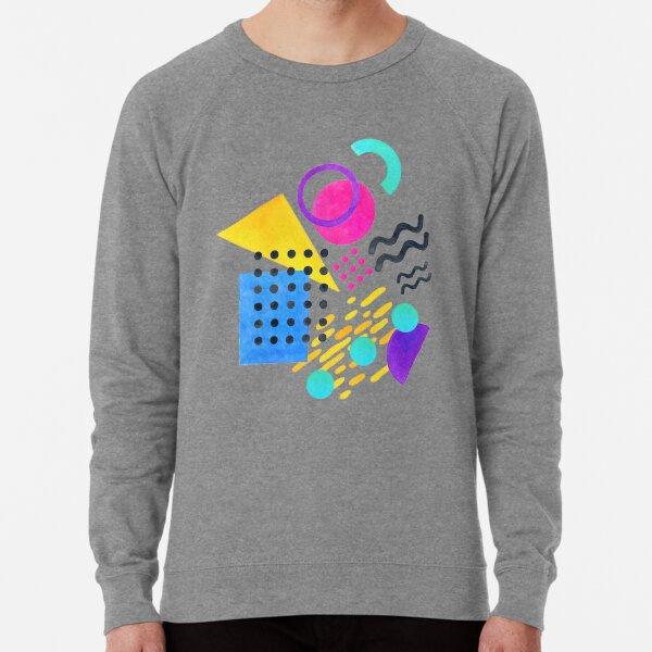Memphis style Lightweight Sweatshirt