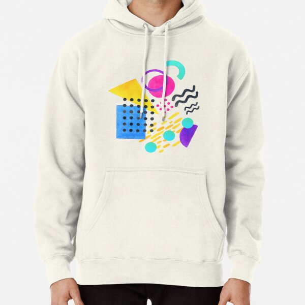 Memphis style Pullover Hoodie