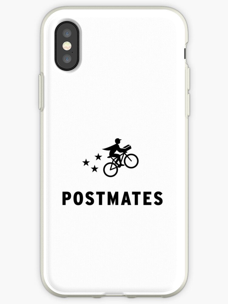 'Postmates Fleet | Driver Apparel | Light Colors' iPhone Case by  PureCreations