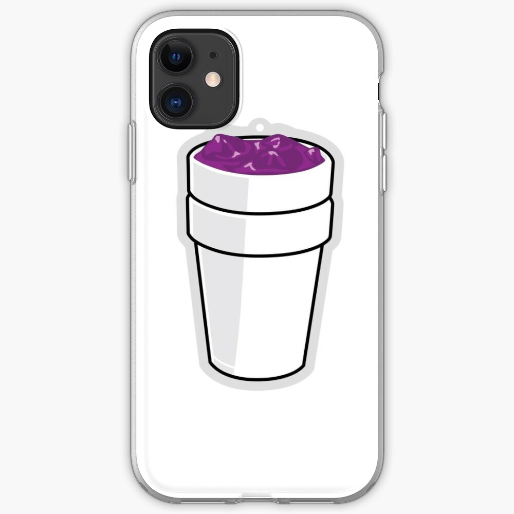 purple drank iphone case