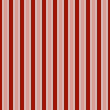 Large White and Dark Salem Red Milk Paint Stripes by oldshaker
