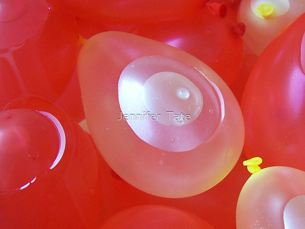 Water Balloons 2 by Jennifer  Tate