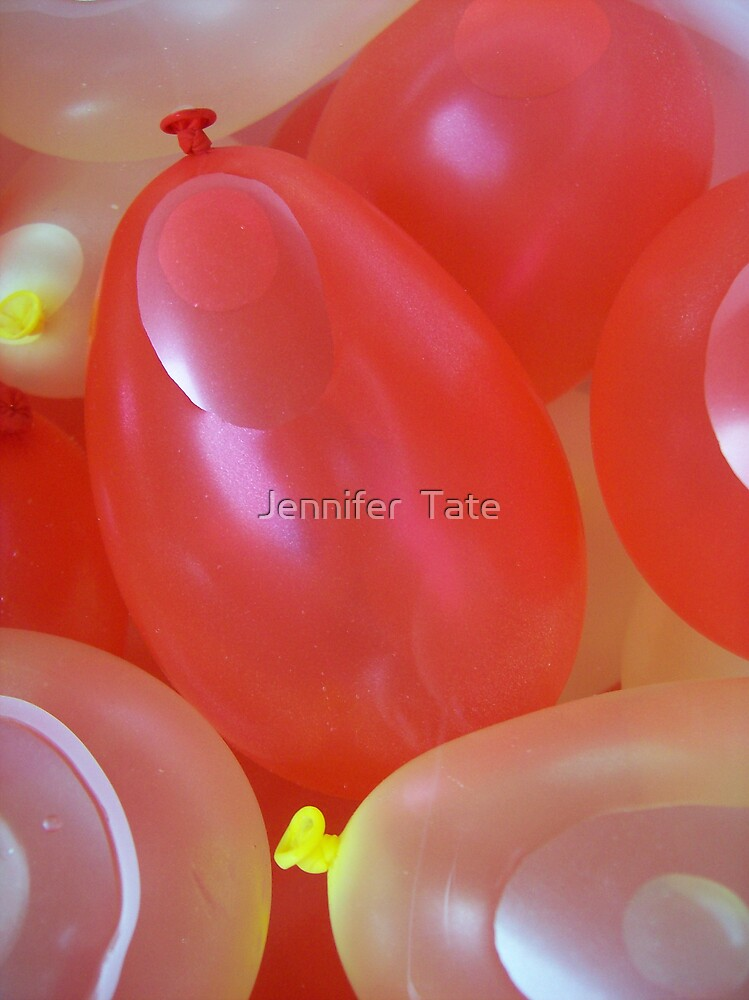 Water Balloons 4 by Jennifer  Tate