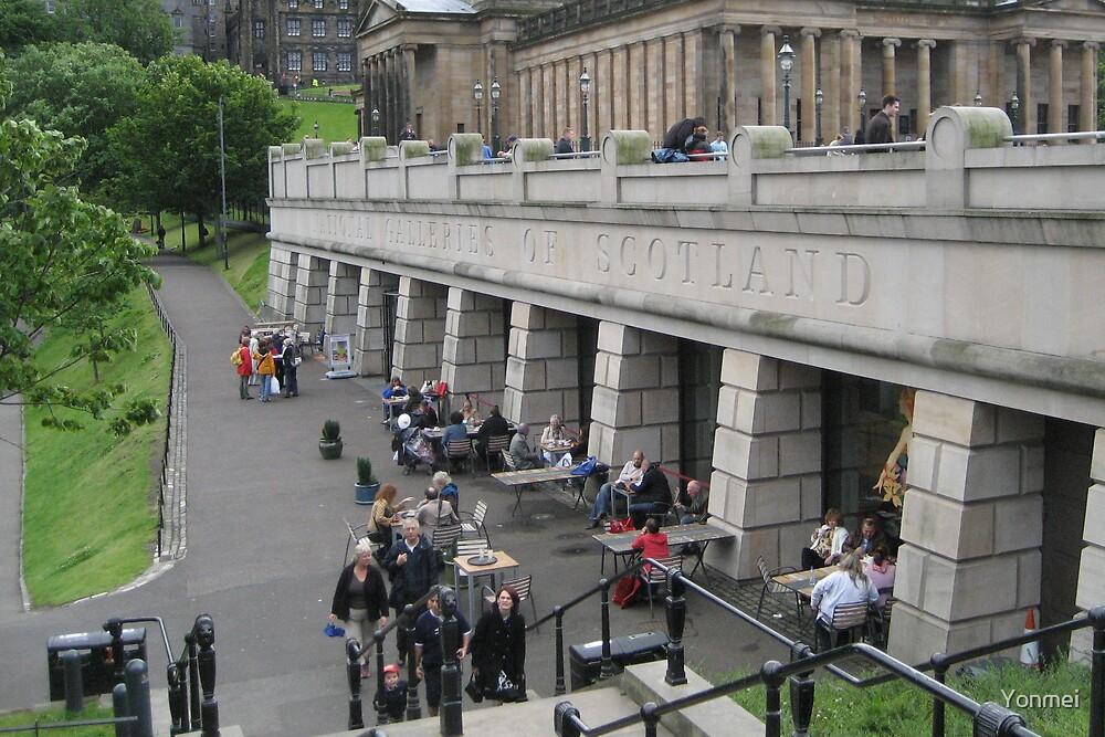 National Galleries in Edinburgh by Yonmei
