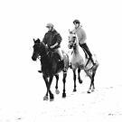 Riders on the Beach by Glen Allen