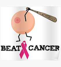 Breast cancer beat Poster