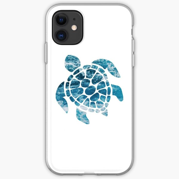 Ocean Sea Turtle iPhone Soft Case