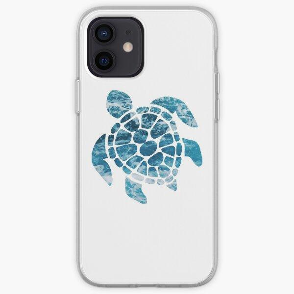 Ocean Sea Turtle iPhone Soft Case