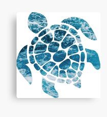 Ocean Sea Turtle Canvas Print