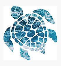 Ocean Sea Turtle Photographic Print