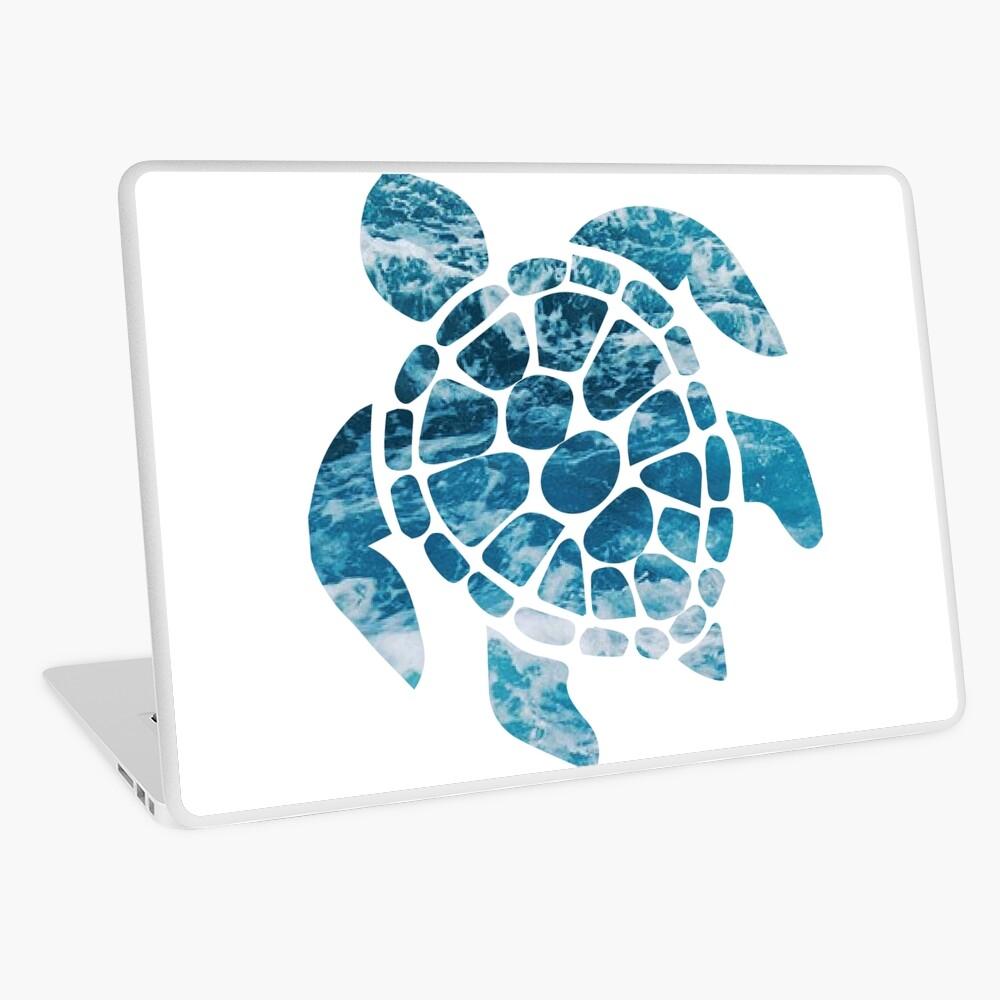 Ocean Sea Turtle Laptop Skin