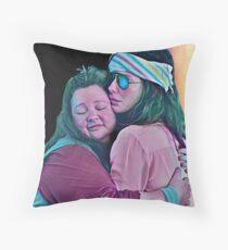 Melissa and Sandra Throw Pillow