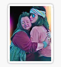 Melissa and Sandra Sticker