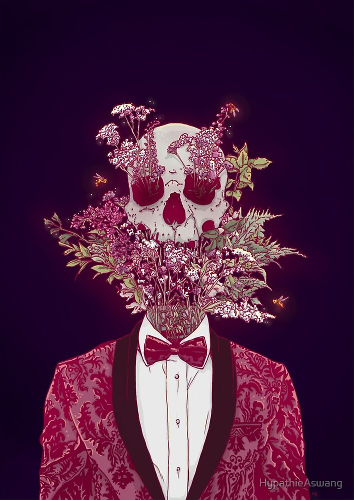 Skull Blossom by HypathieAswang