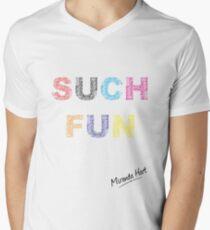 Such Fun! - Miranda Hart [Unofficial] Men's V-Neck T-Shirt