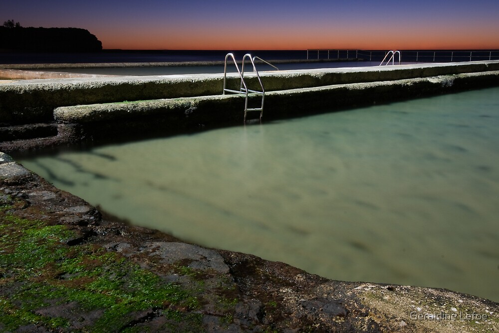 Austi Pool by Geraldine Lefoe