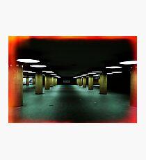 Urbanex 37 Messedamm Underpass Photographic Print