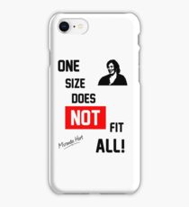 One Size Does NOT Fit All - Miranda Hart [Unofficial] iPhone Case/Skin
