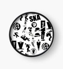 classic ska designs Clock