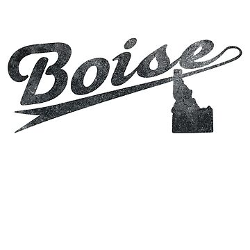 Boise, Idaho Merchandise by JohnOdz