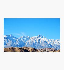 Mt. Whitney Photographic Print
