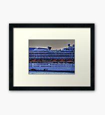 Ship Decks Framed Print