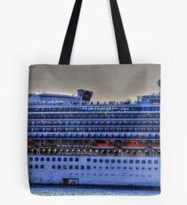Ship Decks Tote Bag