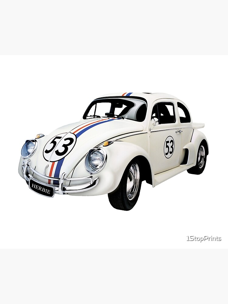 VW Beetle Pink Canvas Multi Sizes Wall Art Poster Print classic volkswagen Car