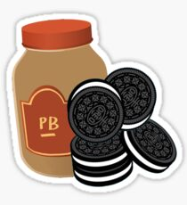 Peanut Butter & Oreos {The Parent Trap} Sticker