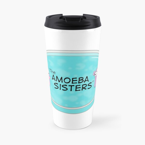 The Amoeba Sisters Travel Mug