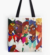 Sailor Scouts Tote Bag