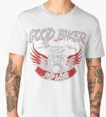 Funny Motorcycle Gifts - Good Biker Bad Laws Men's Premium T-Shirt