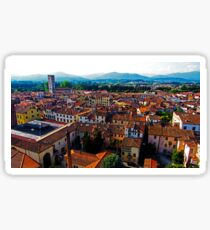 View over Lucca, Italy Sticker