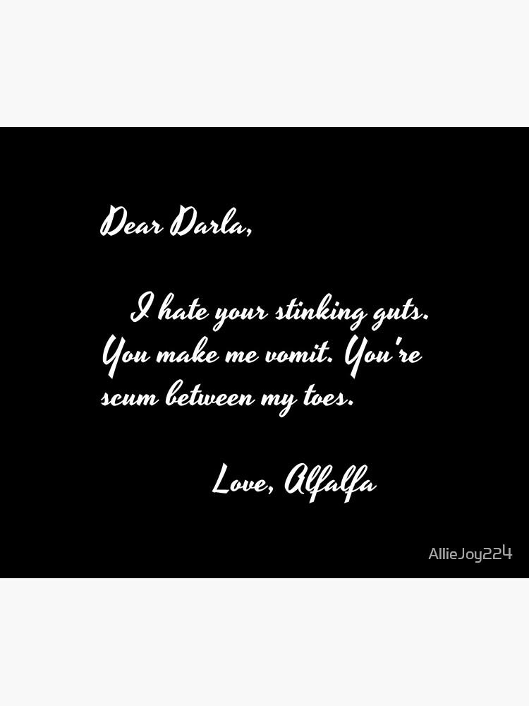 Dear Darla in white by AllieJoy224