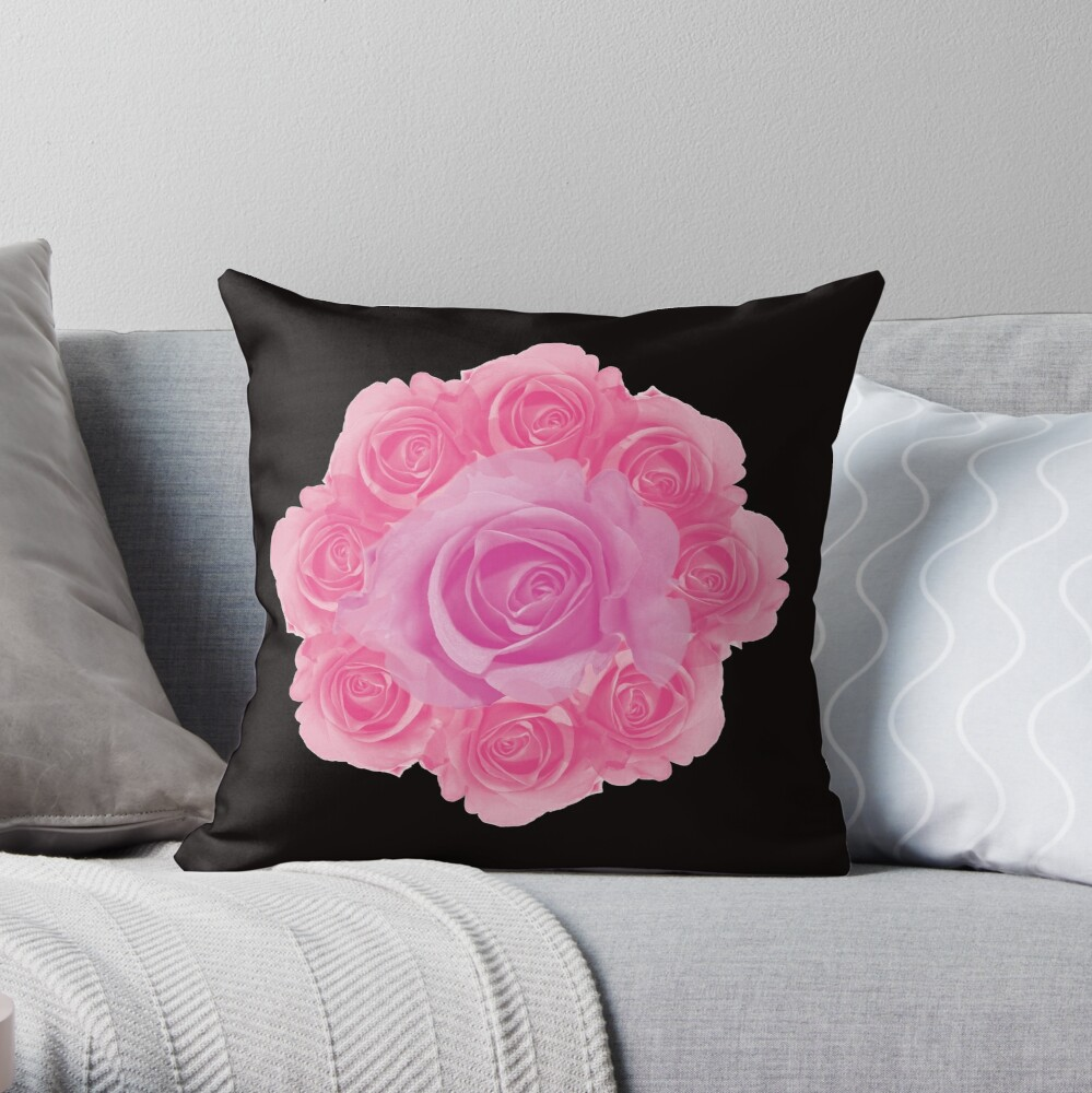 Coussin «Rose is a rose»