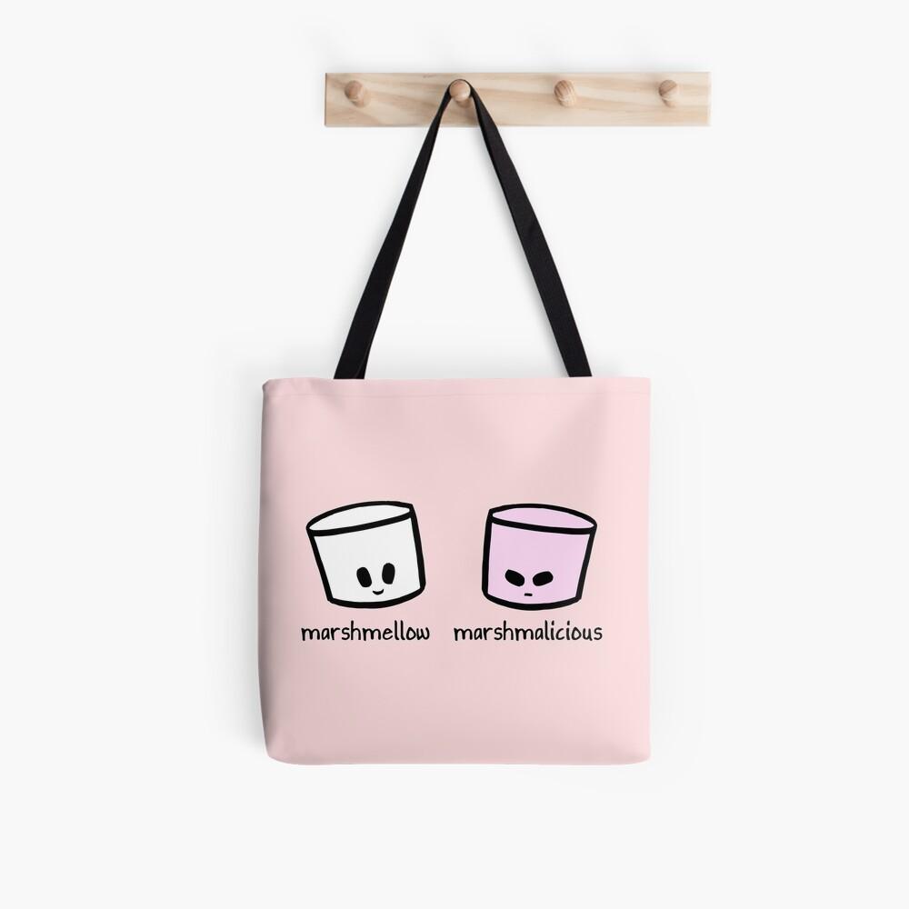 Marshmellow Marshmalicious Tote Bag