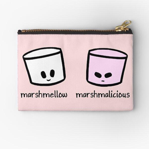 Marshmellow Marshmalicious Zipper Pouch