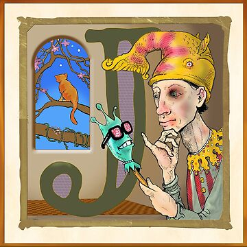 J is for Jester. by johngieg