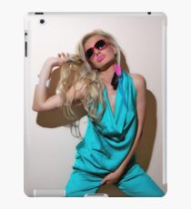 Sexy blond girl in fashion shoot iPad Case/Skin