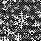 Snowflakes Pattern Automotive Style by Garaga